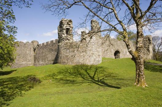 Inverlocky Castle (Crown Copyright: RCAHMS DP 026100)
