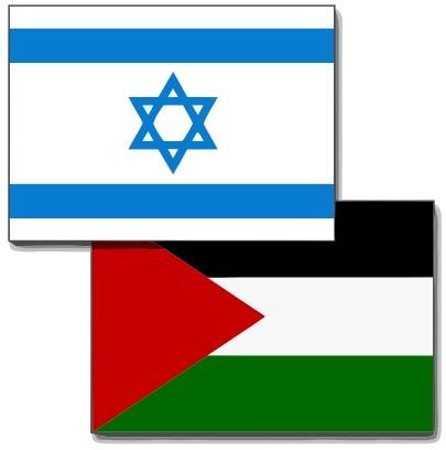 405px-Israel-Palestine_flags