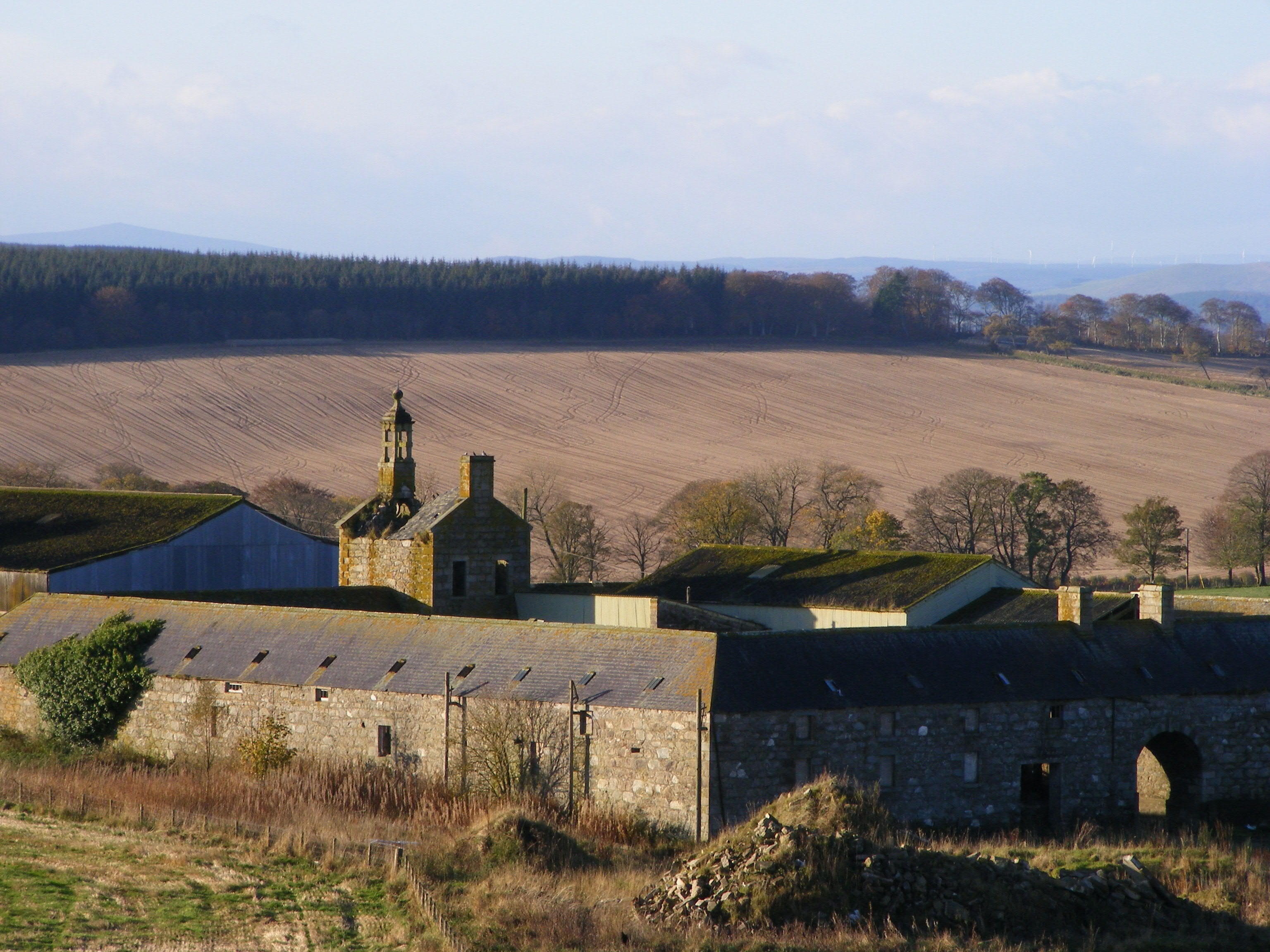 Mains of Carnousie steading Oct 2014 2