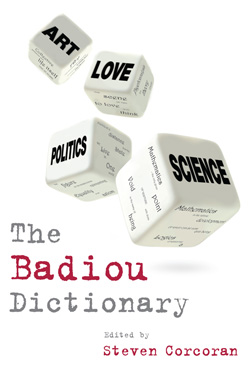 The Badiou Dictionary cover image