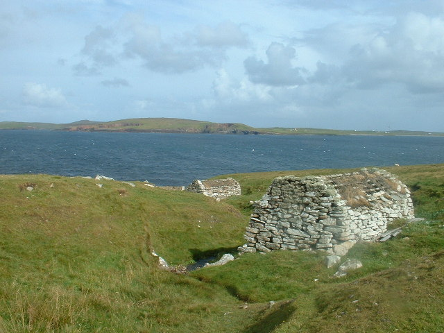 Ancient water mills_Shetland