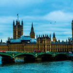 Photograph of Westminster Bridge and the Houses of Parliament