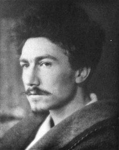 NPG Ax7811; Ezra Pound by Alvin Langdon Coburn