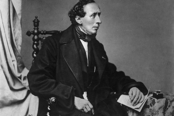 Hans Christian Andersen in 1860