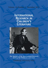 International Research in Children's Literature, 10.2 (December 2017)