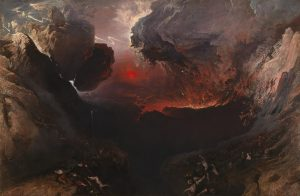 Wonder was eclipsed by the Sublime in paintings such as The Great Day of His Wrath