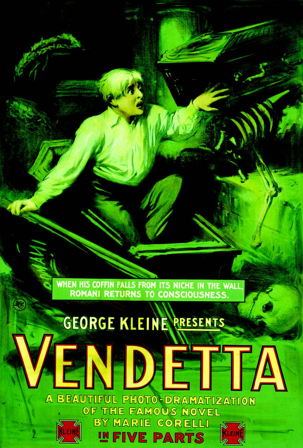 Original movie poster for Vendetta
