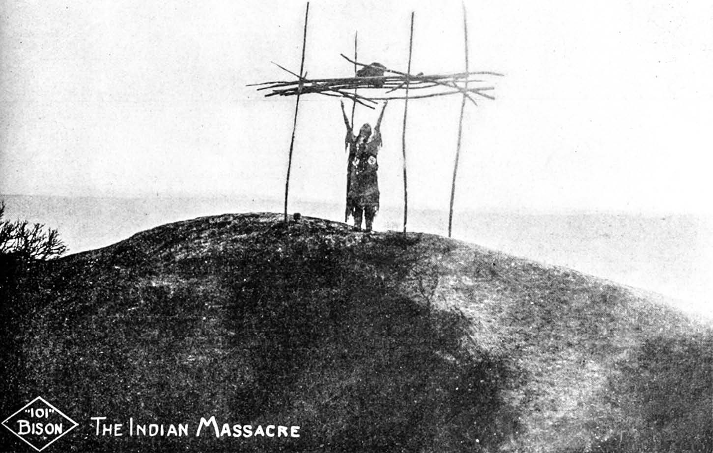 The Indian Massacre (101 Bison, 1912).