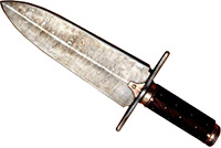 Photograph of a 17th century dagger
