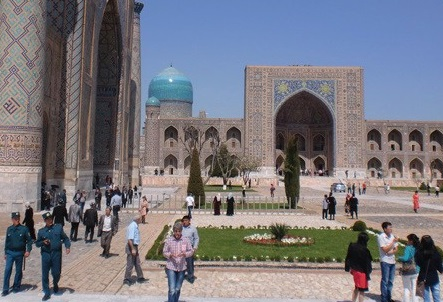 Muslims in Central Asia