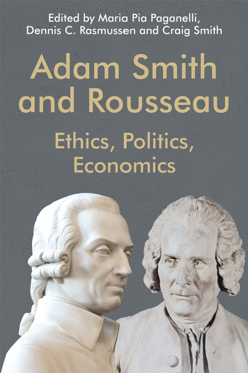 Adam Smith and Rousseau book cover