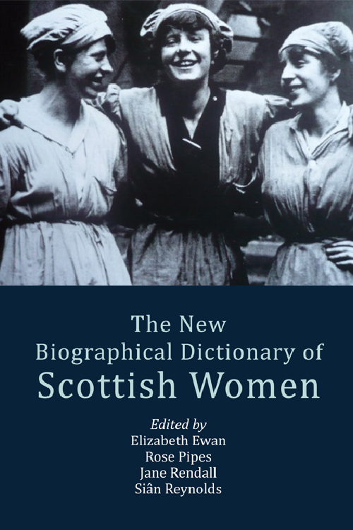 cover of the New Biographical Dictionary of Scottish Women