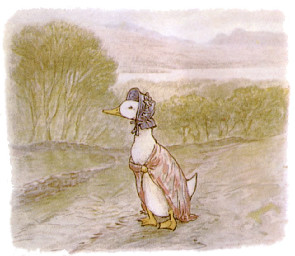The Tale of Jemima Puddleduck illustration
