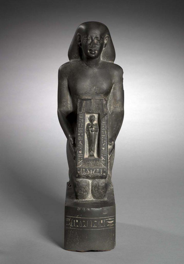 Statue of Horwedja, c. 521-486 BC. Cleveland Museum of Art 1920.1978