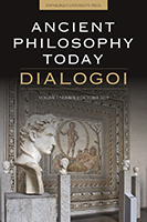 Ancient Philosophy Today Cover
