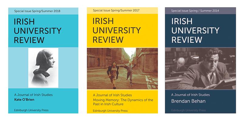 Irish University Review covers
