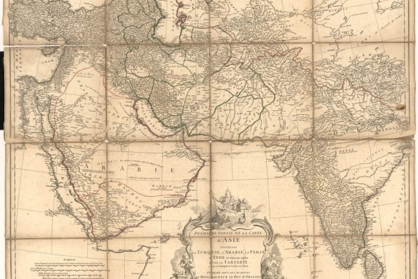 1751 Map of Asia