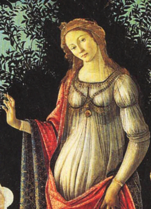 Flora from Botticelli's Primavera