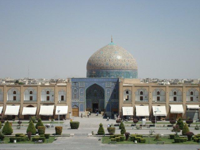 Shaykh Lotfollah Mosque in Iran