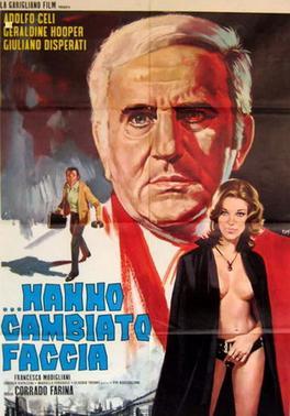 Poster from Italian vampire movie …Hanno cambiato faccia / They Have Changed Their Face (Corrado Farina, 1971).