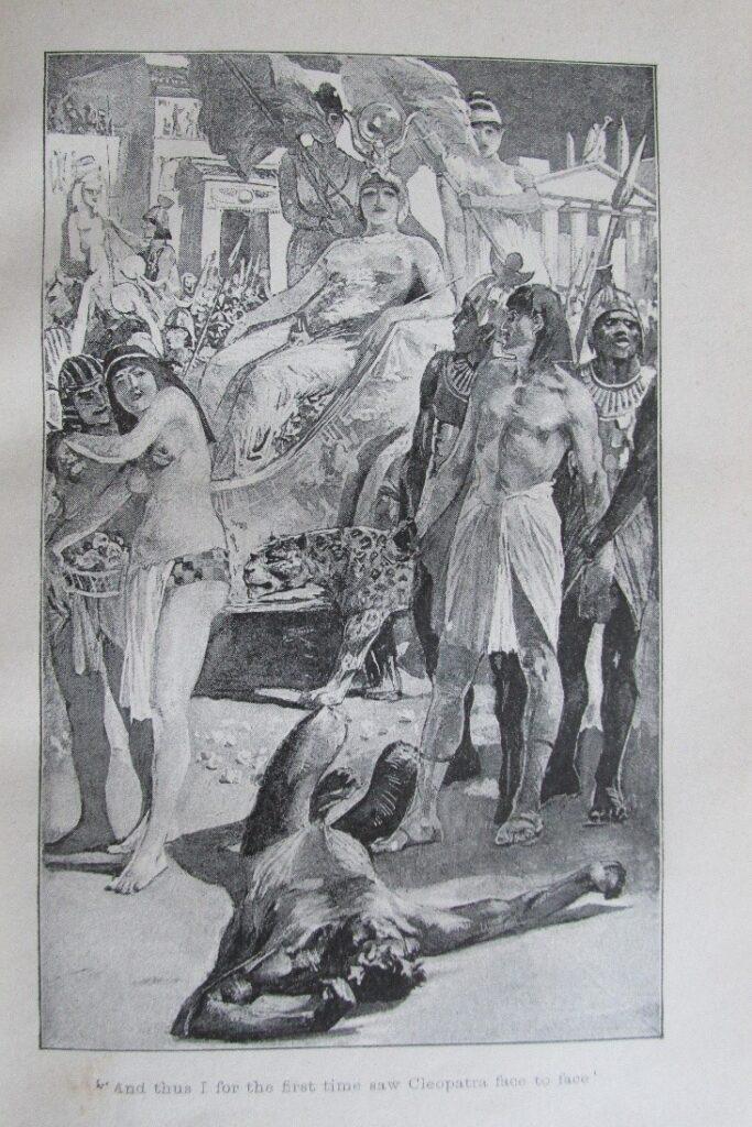 Maurice Grieffenhagen's Cleopatra - book image