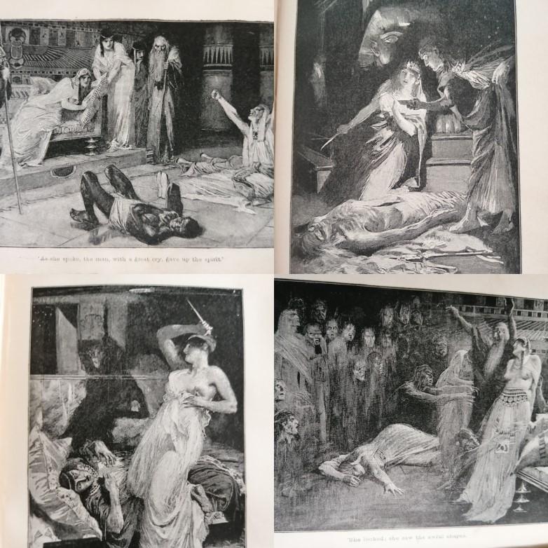 Haggard's Cleopatra - book image