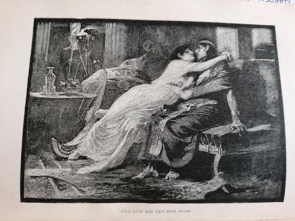 Antony and Cleopatra image from book