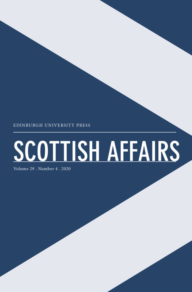 Scottish Affairs journal cover
