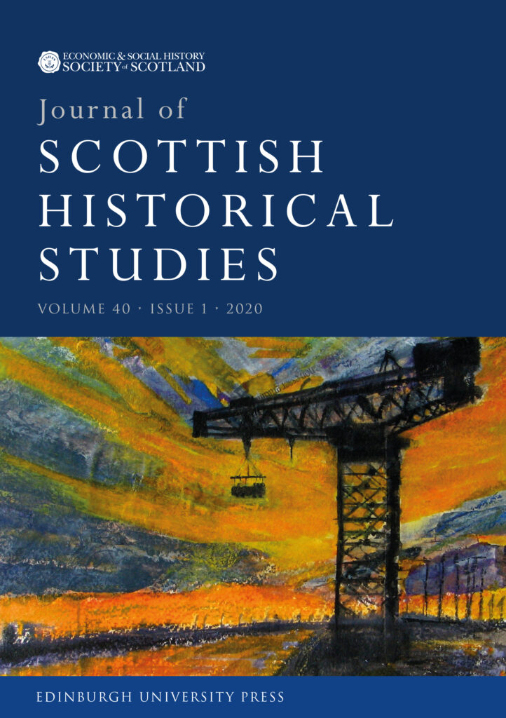 Journal of Scottish Historical Studies cover