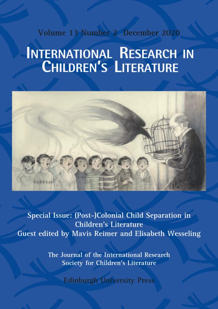 International Research in Children's Literature journal cover