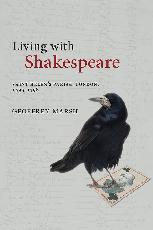Cover Image of Living with Shakespeare by Geoffrey Marsh