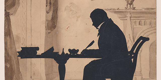Print of Sir Walter Scott