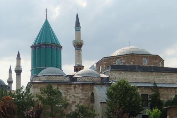 Mawlawi complex, tomb of Rumi, Konya, Turkey, photo John Renard